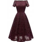 DRESSTELLS Women's Tea Dress F - Accessories - £36.99