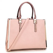 Dasein Women Handbags Fashion Satchel Purses Shoulder Bags w/ Gold Plated Trim - Hand bag - $25.99