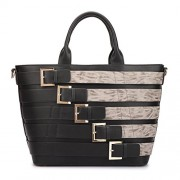 Dasein Women Large Handbag Tote Satchel Bag Fashion Shoulder Bag Laptop Bag - Hand bag - $35.99