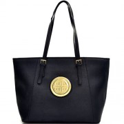 Dasein Women's Large Zip Top Multifunction Buckle Tote Bag Shoulder Purse Handbag - Hand bag - $32.99