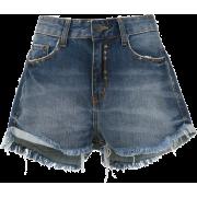 Denim Shorts - JOHN JOHN - Shorts -