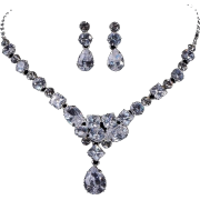 Diamond Earring Necklace - Earrings -