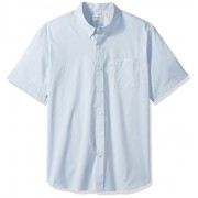 Dockers Men's Comfort Stretch Soft No Wrinkle Short Sleeve Button Front Shirt - Shirts - $18.54
