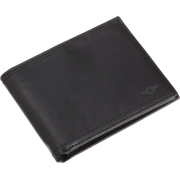 Dockers Mens Extra Capacity Slimfold Leather Wallet Black - Wallets - $26.00