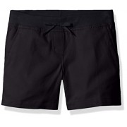 Dockers Girls' Uniform Flat Front Short with Knit Waistband - Shorts - $19.99