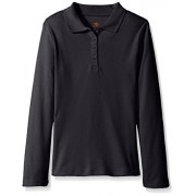 Dockers Girls' Uniform Long Sleeve Polo - Shirts - $4.76