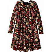 Dolce & Gabbana Kids Womens Back To School Floral Long Sleeve Dress (Big Kids) - Dresses - $150.99