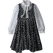 Dolce & Gabbana Kids Womens City Floral Print Long Sleeve Dress (Big Kids) - Vestidos - $439.99  ~ 377.90€