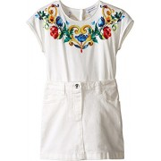 Dolce & Gabbana Kids Womens Escape Dress (Toddler/Little Kids) - Vestidos - $172.99  ~ 148.58€