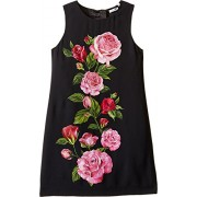 Dolce & Gabbana Kids Womens Rose Cadi Sleeveless Dress (Big Kids) - Dresses - $290.99