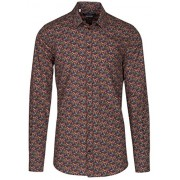 Dolce & Gabbana Men's 'Gold' Aubergine Eggplant Print Button Down Dress Shirt - Camisa - curtas - $745.00  ~ 639.87€