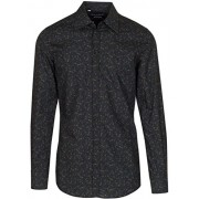 Dolce & Gabbana Men's 'Gold' Dark Green Floral Pattern Button Down Dress Shirt - Shirts - $795.00