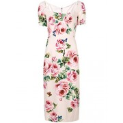 Dolce e Gabbana Women's F67J4TFSRI3HAH41 Pink Viscose Dress - Dresses - $1,992.00