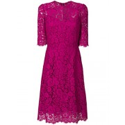Dolce e Gabbana Women's F67Z2THLMIIF0382 Fuchsia Cotton Dress - Dresses - $2,396.00