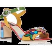 Dolce & Gabbana Embellished Sandals - Classic shoes & Pumps - 696.00€  ~ $810.35
