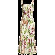 Dolce & Gabban vegtable dress - Dresses -