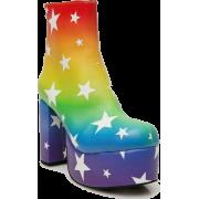 DollsKill Moonbow Platform Boots - Boots -