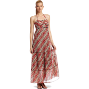 Donna Morgan Women's Floral Halter Sundress Red multi - Dresses - $74.00