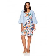 Donna Morgan Women's Plus Size Placement Print Crepe Dress - Dresses - $128.00