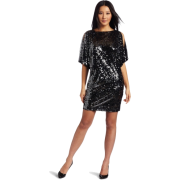 Donna Morgan Women's Wide Sleeve Dress Gunmetal - Dresses - $188.00