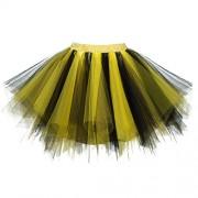 Dressever Vintage 1950s Short Tulle Petticoat Ballet Bubble Tutu - Roupa íntima - $9.99  ~ 8.58€