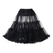 Dressystar Women's Vintage Petticoat Skirt 1950s Underskirts Tutu Crinoline - Underwear - $30.99