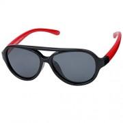 Duco Kids Aviator Polarized Sunglasses TPEE Flexible Frame Glasses for Boys and Girls, Age 3 to 7, K011 - Eyewear - $38.00