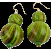 Dzidzo Green earring - Серьги -