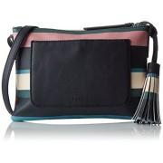 ESPRIT 087ea1o030, Women's Shoulder Bag, Blau (Navy), 2x17,5x25 cm (B x H T) - Hand bag - $31.33