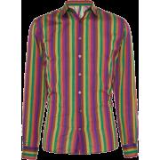 ETRO Stripe Dress Shirt - Long sleeves shirts -