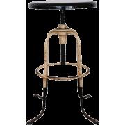 Early 1900s Adjustable Industrial Stool - Muebles -