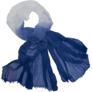 Echo Ombre Boarder Wrap Royal - Scarf - $39.90