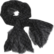 Echo Polka Dot Wrap Black - Scarf - $39.90