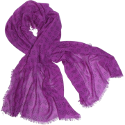 Echo Polka Dot Wrap Hot Viola - Scarf - $39.90