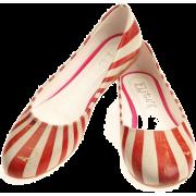 Elite Goby Circus Stripe Ballerina Flats - Ballerina Schuhe -