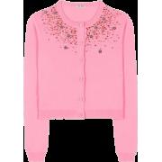 Embellished cashmere cardigan - Uncategorized -
