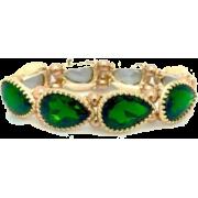 Emerald Green Bracelet - Bracelets -