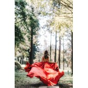 Emma fox photography red dress - Laufsteg -