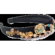 Enamel Glaze Forest Crystal Headband - Belt - $89.80