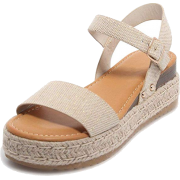 Espadrille Wedge Sandals - Wedges - $29.99