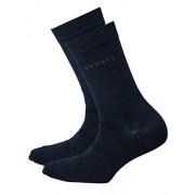 Esprit Unisex socks Set 2 pairs of socks Uni Pack - color selection: Colour: Navy | Size: 2.5-5 UK - Accessories - $11.44