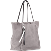 Extra large suede tote - Borsette -