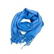 FASHIONOMICS Womens Solid Colors Fringe Hem Soft Pashmina Shawl Wrap Scarf - Scarf - $9.00