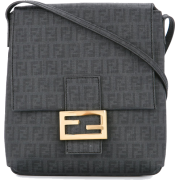 FENDI VINTAGE Zucca pattern crossbody ba - Hand bag - $565.00
