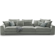 FLEXFORM grey sofa - Furniture -