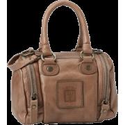 FRYE Brooke Small Soft Vintage Leather Satchel Grey - Bag - $248.00