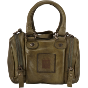 FRYE Brooke Small Soft Vintage Leather Satchel Olive - Bag - $248.00