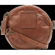 FRYE Brooke Soft Vintage Leather Cross Body Cognac - Bag - $227.50