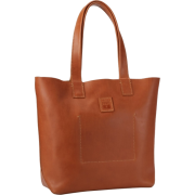 FRYE Stitch Smooth Full Grain Tote Cognac - Bag - $288.00