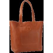 FRYE Stitch Smooth Full Grain Tote Cognac - Bag - $288.00